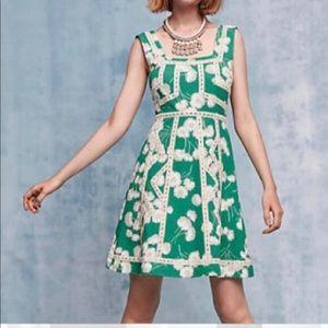 Anthropologie Maeve Emma dress size 2 broken zip